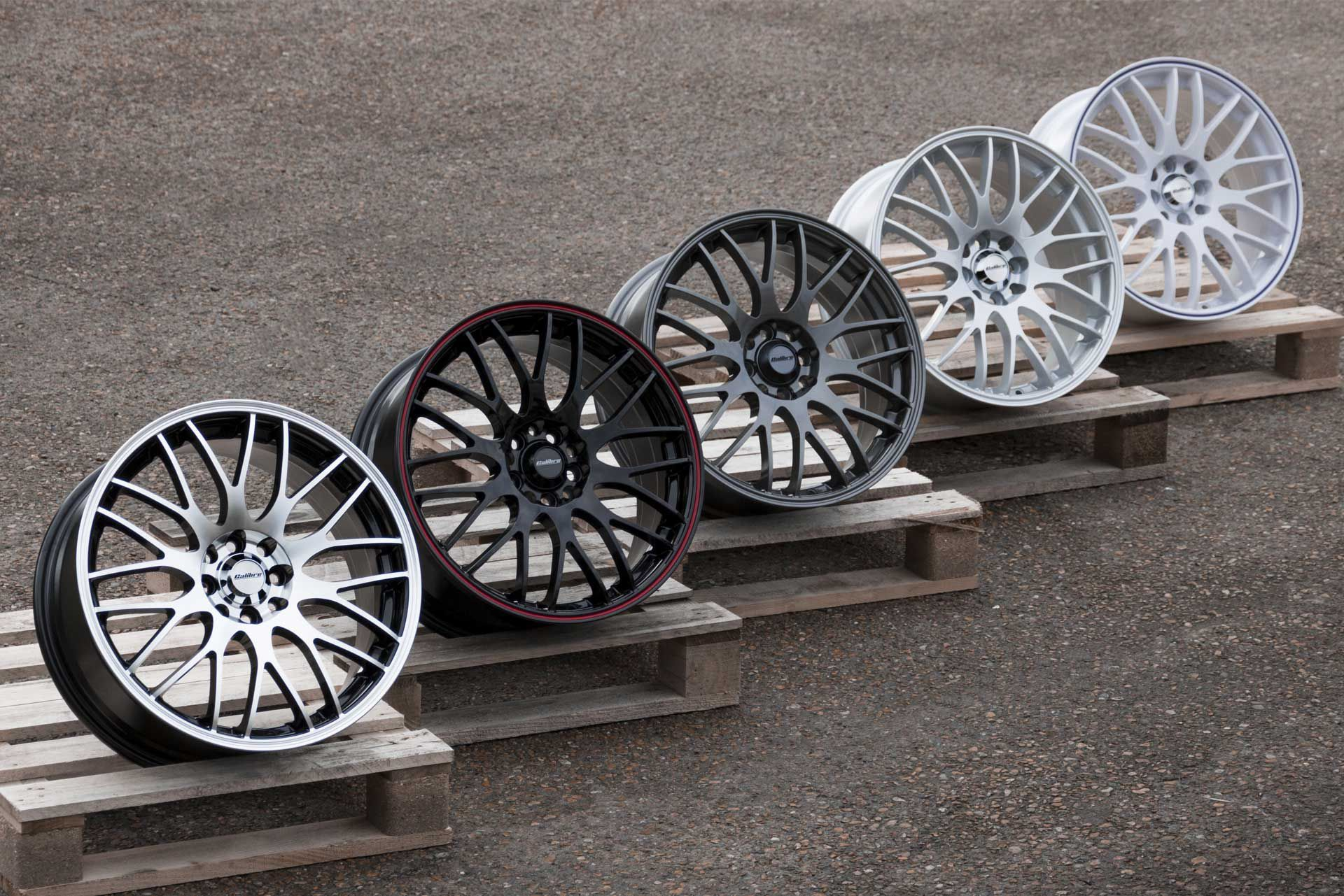 Motion Alloy Wheels (All Colours)